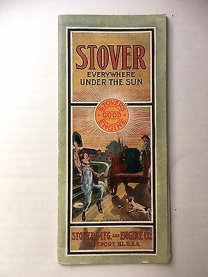 Rare Original Stover Mfg. & Engine Co. Brochure Hit Miss Engine