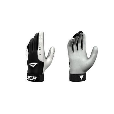 3N2 3810-0106-YM Pro Gloves, Black And White Young Medium