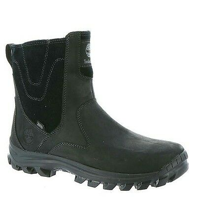 Timberland Men's Chillberg Mid Side-Zip WP Insulated Boots Black A111Z001 Size 9