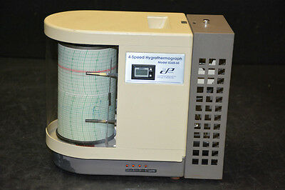 Cole Parmer 8368-60 4-Speed Hygrothermograph