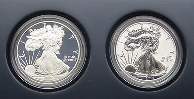 2012 American Eagle San Francisco Two-Coin Silver Proof Set - US Mint