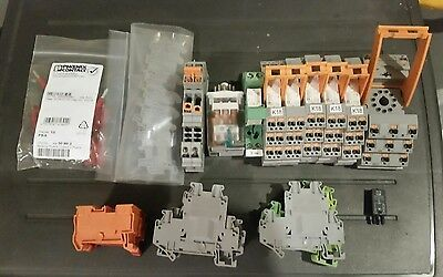 lot of 300 phoenix contact pieces Electric parts nearly new and used