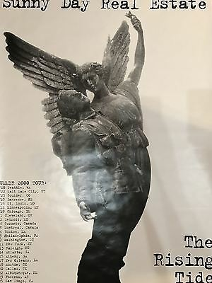 Sunny Day Real Estate - 2000 Tour poster The Rising Tide HUGE 40x60''