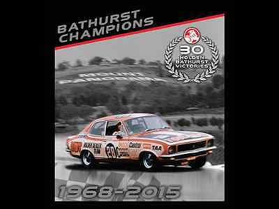 2016 Celebrating 30 Years Holden Bathurst Victories Stamp Folder Set