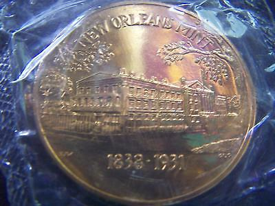 Undated NEW ORLEANS MINT Bronze Commemorative Medallion in Sealed Wrapper