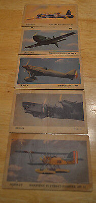 1940 Tydol Gas Airplanes Cards Near complete set of 34