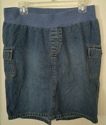 Old Navy Maternity Jean Skirt Size M
