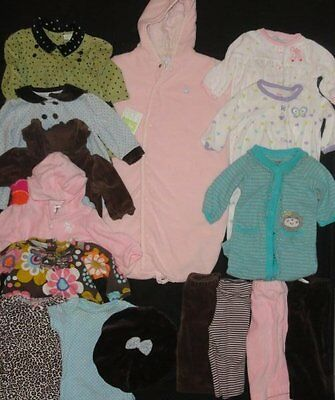 Girls Clothes 3 Months Outfits Sets Dress Lot NWTS Euc Summer Fall FREE SHIP