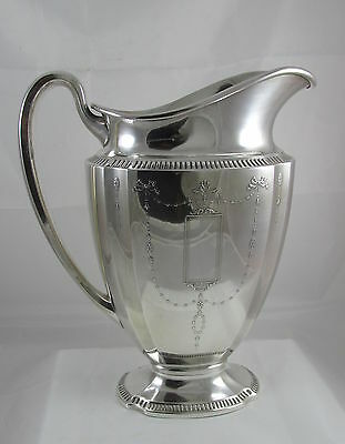 Vintage Community Silver Plate Grosvenor Large Water Pitcher