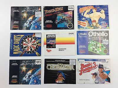 Lot of 29 Nintendo Manual ONLY  - Nes -