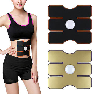 Muscle Training Body Shape Fit ABS Abdomen Pad Fitness Massage Trainer Work Out