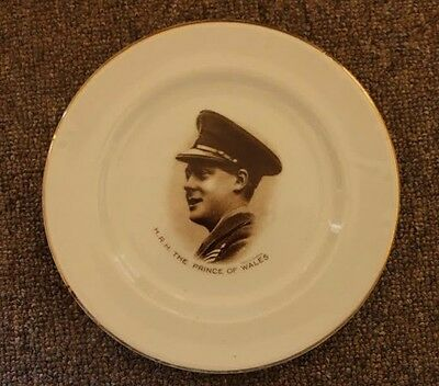 HRH Prince of Wales 1910 pin tray/plate