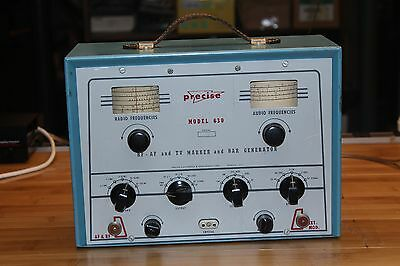 Vintage Precise 630 RF AF & TV Marker and Bar Generator