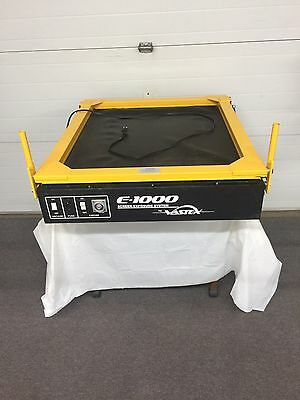 Vastex E-1000 Screen Printing Exposure Unit Great Condition Fully Operational