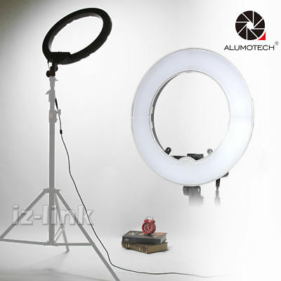 Step less 40W Bi-color Dimmable LED SMD Circle Light For Camera Video Studio