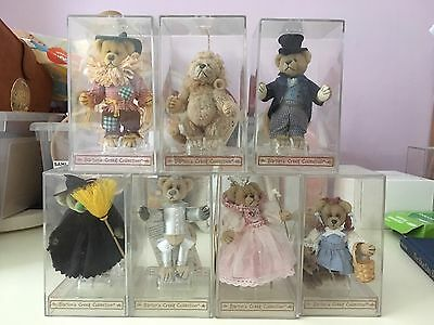Barton's Creek GUND Full Set Wizard Of Oz Miniature Bears