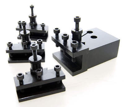 Quick Change Toolpost For Small Lathes With  4 Holders