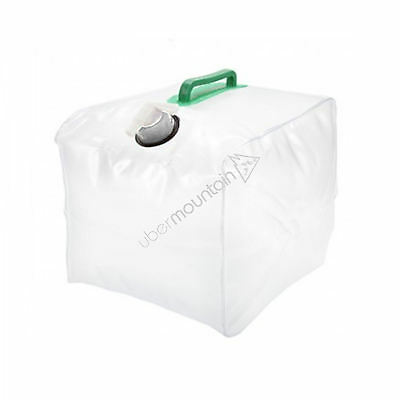 Summit 15 Litre Fold Up Water Carrier Hiking Camping Outdoors Plastic Container