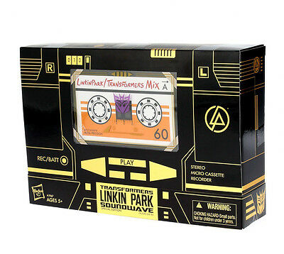 Transformers Linkin Park X'mas Gift Exclusive Limited Edition Gold Soundwave MIB