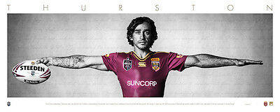 Johnathan Thurston Maroons Wings Unsigned Unframed $99