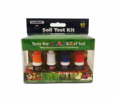Soil Testing Kit,  For pH, N, P & K. soil tester,  - 80 tests PH Tester pH test