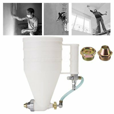 3000CC Cement Mortar Sprayer Stucco Hopper Coatings Spray Gun Wall Concrete Tool