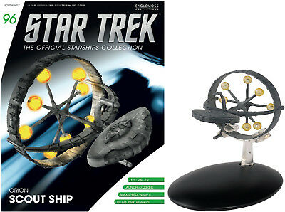 Star Trek The Official Starships Collection Orion Scout Ship #STC1 - Free p&p