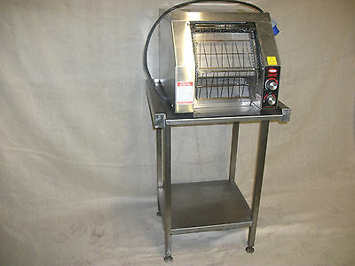 Hatco TRH65 Toast-Qwik Commercial Conveyor Toaster Oven WITH STAINLESS TABLE