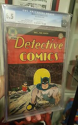 Detective Comics #94 Dec 1944 DC Batman Comic CGC 6.5 RARE