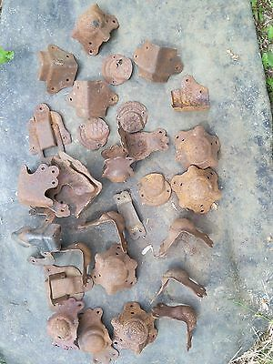 Antique Vintage Steamer Trunk Salvage Parts Rusty Used lot