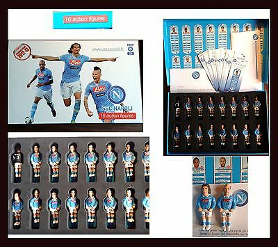 16 Action Figure Societa' Sportiva Calcio Napoli 2012-13 Sport Football Game