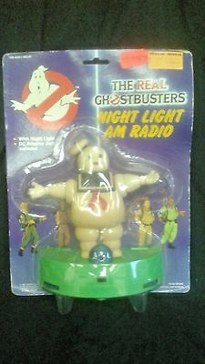 Vintage 1988 The Real Ghostbusters Night Light & Am Radio
