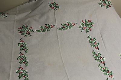 embroider tablecloth