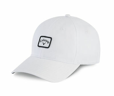 NEW Callaway 82 Label White Fitted L/XL Golf Hat/Cap