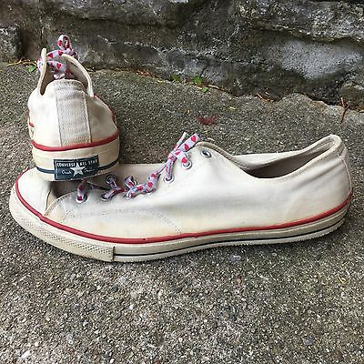 VTG 60s 70s Converse All Star Low Chuck Taylor SZ 17 USA Made Store Display