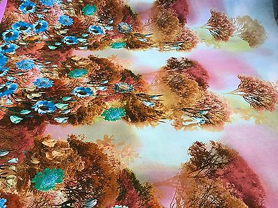 Italian Dress Fabric - Dawns Light - Designer Fabric Roberto Marciano