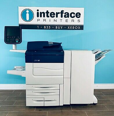 Xerox C70 Color Printer With Bustled Fiery @ Advanced Finisher @ 32K Copies