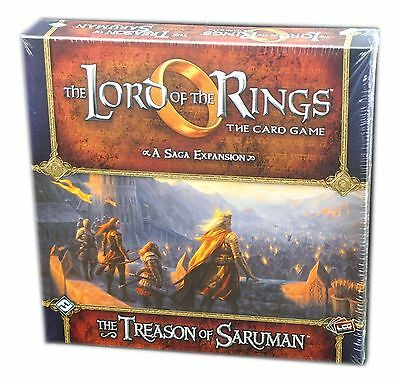 Lord of the Rings, the Living Card Game, The Treason of Saruman Expansion New