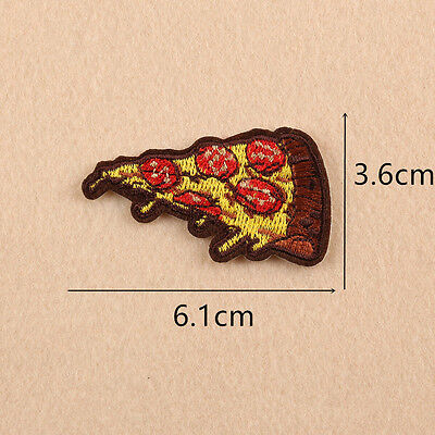 Embroidered Sandwich Patches Sew Iron On Badge Hat Bag Clothes Applique Craft