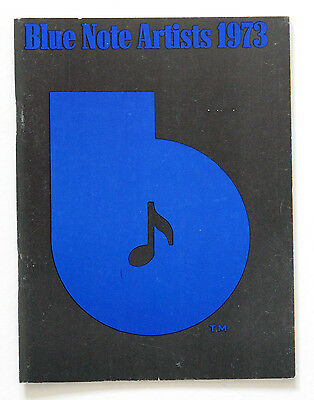 Blue Note Records 1973 catalog - photos and bios of Silver, Byrd, Hutcherson etc