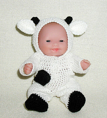 "Cow OUTFIT ONLY for Itty Bitty Baby - 5"" Lots to Love Babies"