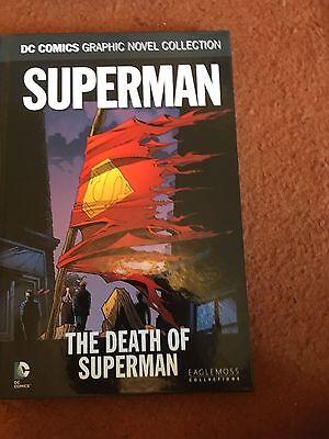 DC COMICS GRAPHIC NOVEL COLLECTION - Volume 16 - Superman The Death Of Superman
