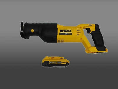 New Dewalt 20V Cordless Reciprocating Sawzall DCS380 with DCB203 2.0Ah battery