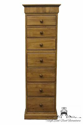 PENNSYLVANIA HOUSE 20″ Seven Drawer Lingerie Chest w/ Lift Top Jewelry Tray