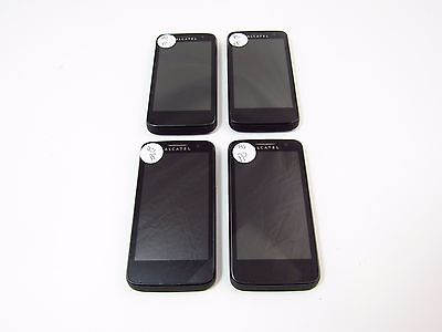 Lot of 4 Alcatel One Touch M'Pop (5020N) (Metro PCS) (Check ESN)_B12
