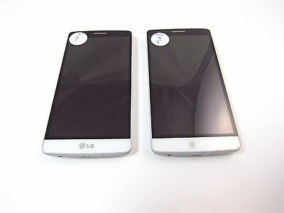 Lot of 2 LG G3 Vigor (D725) (AT&T) (Check ESN)_B12