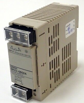 Omron S8Vs-06024 Power Supply Tested & Working