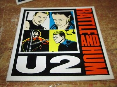 U2 BONO STICKER COLLECTiBLE RARE VINTAGE 90'S METAL LIVE DANZIG