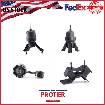 Engine Motor Mount & Auto Trans 4 PCs Set For 1997-2001 Toyota Camry 2.2L