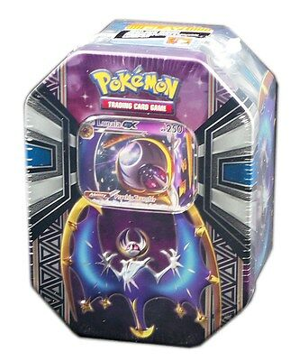 Pokemon TCG SM Legendary Power, Lunala GX Tin, New and Sealed